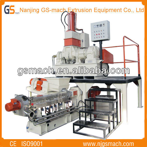 GS 40 low price plastic compounding line products made from bopp film scrap