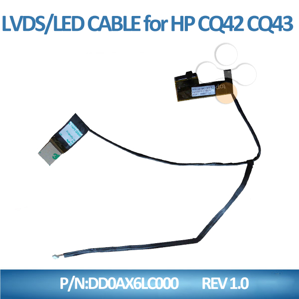 Computer Cable Parts : Other computer parts lcd cable display system for hp