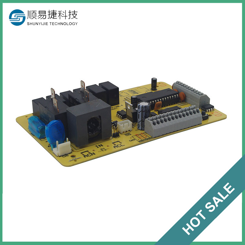 Controller pcb electronic components and pcba assembly