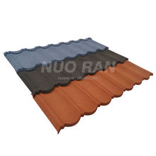 NUORAN metal stone coated chip steel roof tilel /galvanized sheet /colorful sand coated metal roof tile for house