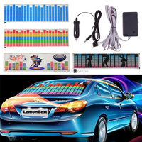 Led Sound Activated El Sheet Car Music Sticker