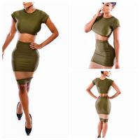Instyles NKM099 aaaNYH6049 Hot Sell Two Piece Dress Gala Dress silica gel