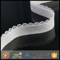 Various forms customized crochet elastic intimate wears polyester jacquard elastic webbing for underwear