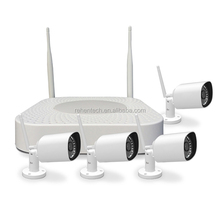 DIY 1.3MP Wireless P2P IP Camera NVR Home Security System Kit