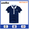 High quality factory direct sale mens blue oem polo shirt