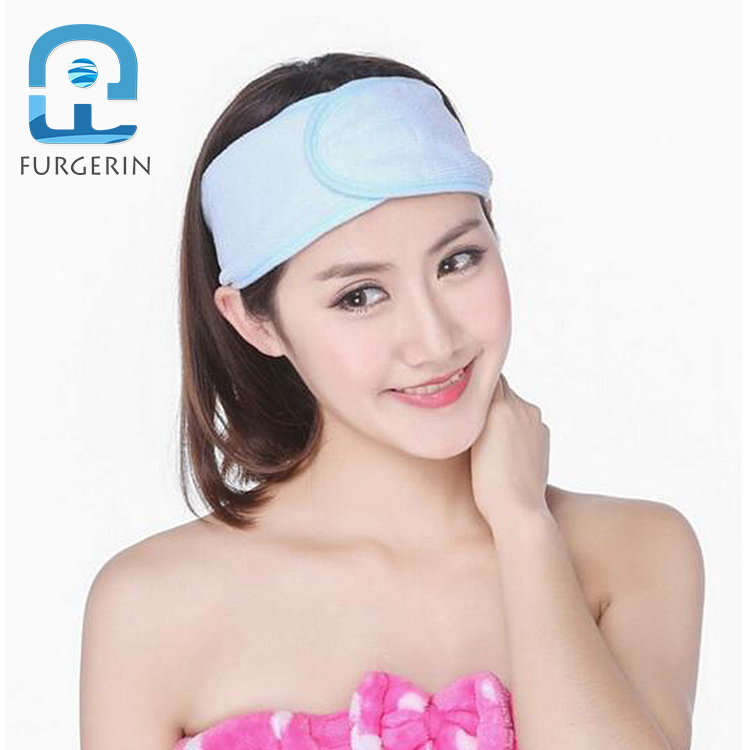 Five Colors Option Washable Hairbands Elegant Girl Sport Microfiber Yoga Headband For Lady