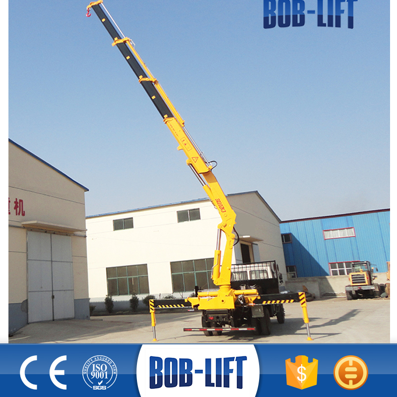 Competitive Price,China Knuckle Boom mobile crane 10 ton for Sale with ISO&CE Certificate SQ10ZA3