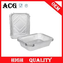 high-end market aluminium foil turkey trays for hotel