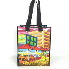 Custom Fashion PVC Folding Reusable Shopping Bag Manufacturer