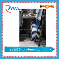 High Quality Stripe Pattern Printing Laundry Bag