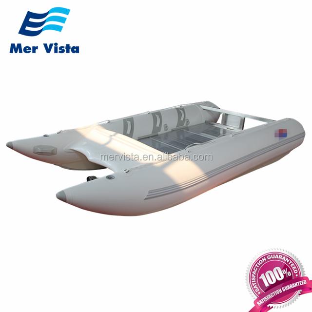 Sailing Fishing Boat Aluminum Passenger Inflatable Catamaran For Sale