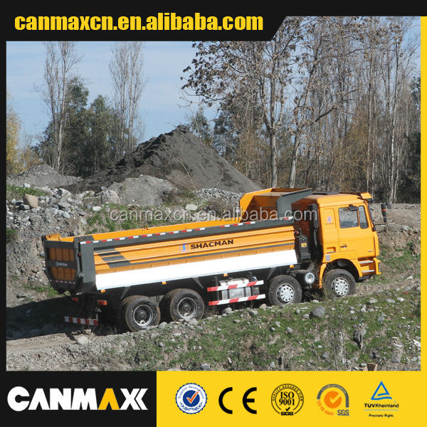 SHACMAN Russian certifcate high quality Dumper truck on sale