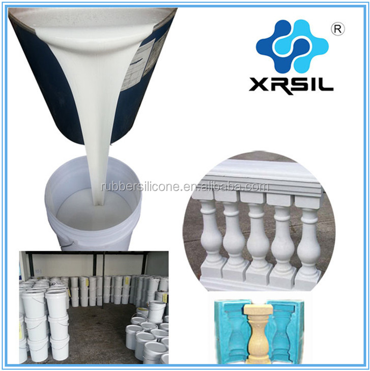 Concrete balusters molds casting silicone rubber liquid