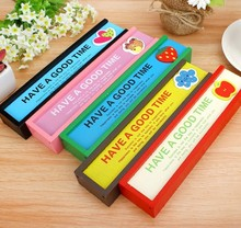 2015 new item wooden material pencil cases wholesale