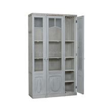 FSC 100% 200 patents handmade wooden display cabinet