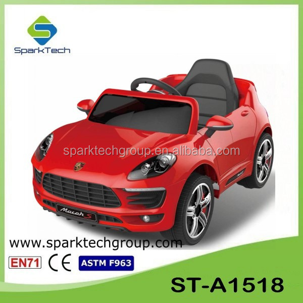 30W 12V Power Wheel For Kids, 2.4G Bluetooth Cheap Electric Cars For Kids, Ride Toy ST-A1518