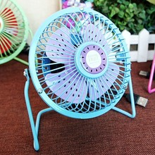 Fashion Summer air cooling USB Fan Portable Flexable Mini Cute USB Fan for Notebook PC Tablet Power Bank