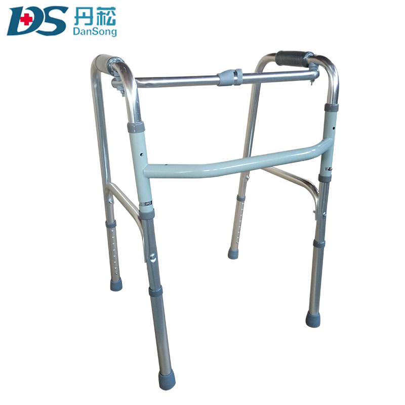 Old People Walking Rehabilitation Used Standing Frame Knee Walker ...