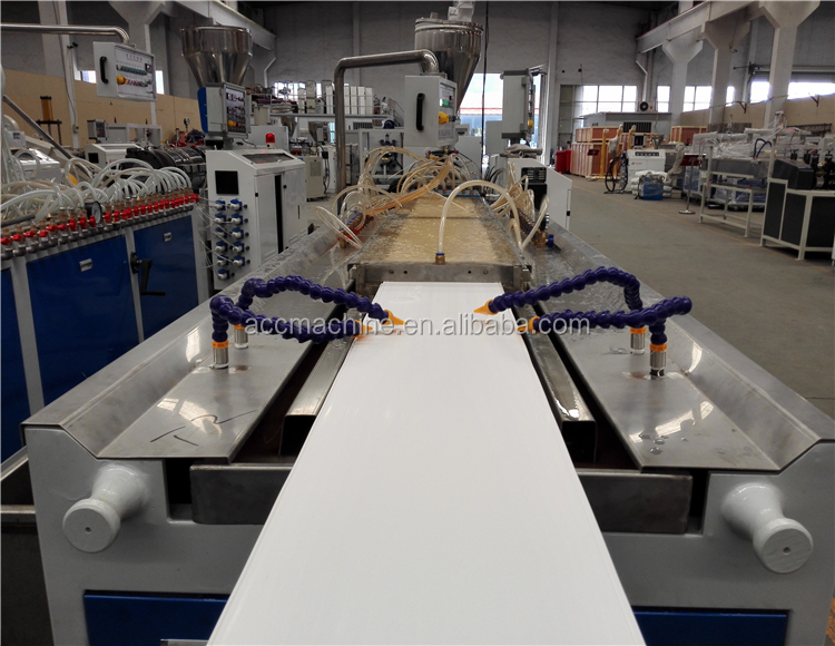 PVC decorative ceiling/wall panel/door board production line