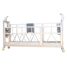 China manufacturer supply electric window washing platform aluminum swing stage