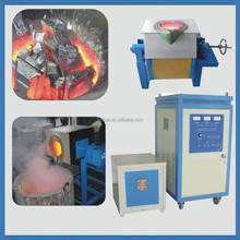 High frequency small melting furnace and kiln for metal scrap
