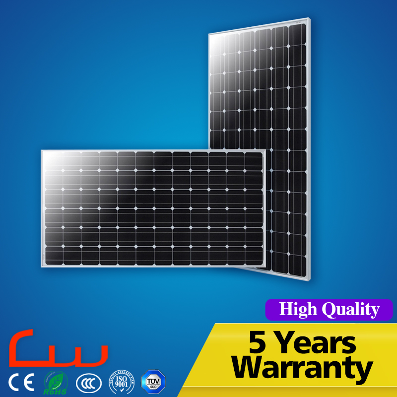 High efficiency solar panel 100w mono with 32pcs cell