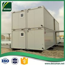 DESUMAN quality guarantee ISO wind and earthquake resistance easy to build flat top modular house plans