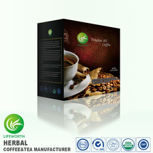 Lifeworth Wholesale malaysia latte tongkat ali coffee with 3 days sample delivery