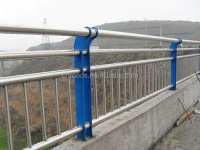 Chinese Stainless steel city road fence/Multifunctional,solid steel city road fence for hot sale
