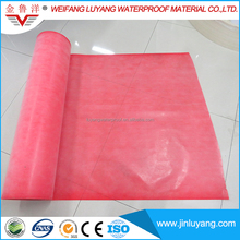 Basement Waterproof Membrane Polyethylene Polypropylene Compound Waterproof Coiled Material