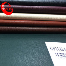 Special Lichee Pattern embossing PU leather for lady shoes