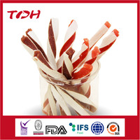 Beef/Lamb Twisted Sandwich Premium Dog Treats Wholesale Dog Snacks Pet Food Manufacturers