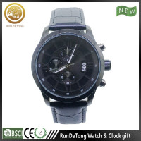 Craftsmanship three eyes date radiation detector watch