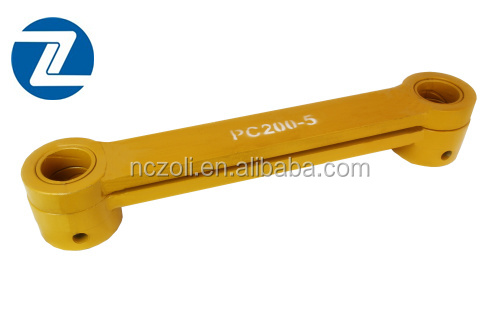 PC200-5 High quality customized iron casting bucket link rod