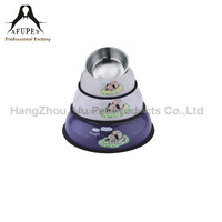 3pcs /lot stainless steel pet feeding bowl