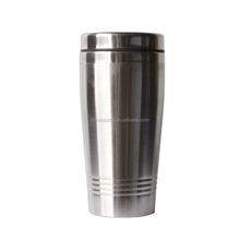 double wall stainless steel traveler tumbler ,Stainless Steel Tea Water Coffee Flask Vacuum Thermos Cup Travel Mug