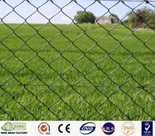 Farm used hot-dipped diamond iron wire chain link fence for pet cage