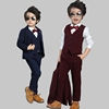 Boy's Formal Occasion Children Wedding Suit Boys Kid Tuxedo
