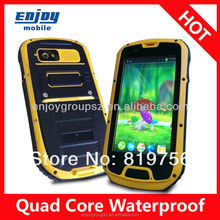 Smartphone 4.3' Quad Core 3G wifi GPS IP68 Rugged Android Smartphone with mobile phone prices