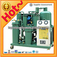 Used engine oil filtration machine breaks emulsification effectively,restores the flash point and oil quality