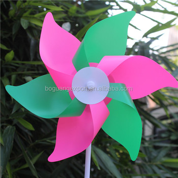 New design popular pinwheel parts toy rainbow pinwheel
