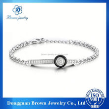 finger link chain ring bracelet jewelry
