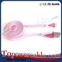 Factory Supply Oem Flat Mobile Phone Usb Data Power Cable Software Download