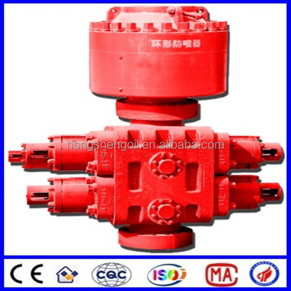 API 16A High Pressure Double Ram BOP Blow out Preventer for Well Drilling Oilfield wellhead control manufacturer