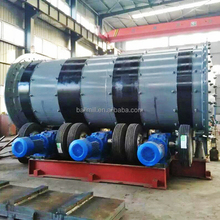 New High energy Tyre Driving Industrial Ball Mill On Sale