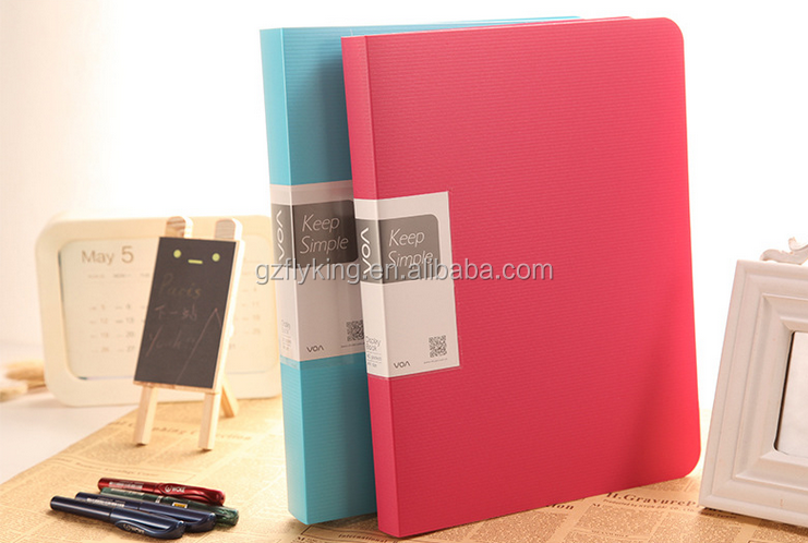 clear display book,20 pockets clear book