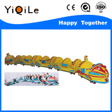 2016 the new style outdoor train sets games playground for kids activity amusement