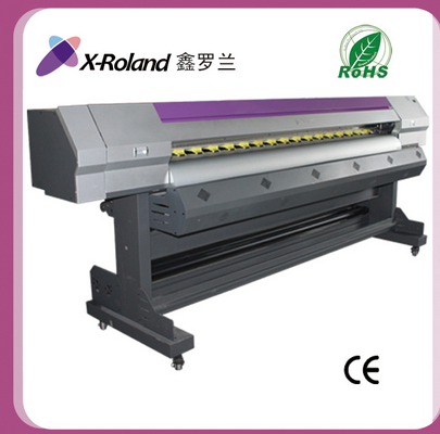 Hot sale! 2.2m roland large format DX7 printhead eco solvent printer , flex sticker digital printing machine price