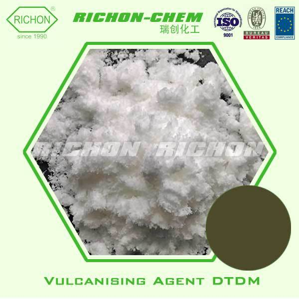 Industrial Chemicals used in the Tire of Motorcycles Made in China C8H18N2O2S2 103-34-4 Rubber Vulcanizing Agent DTDM Powder