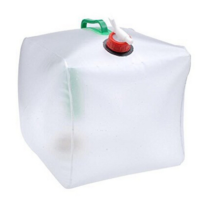 High Quality 5 Gallon/20L Portable Outdoor Camping Folding Lifting Bucket Water Bottle Water Bag Car Mention Water bag